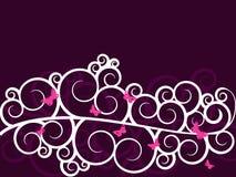 Fundo floral clássico macio Fotos de Stock Royalty Free