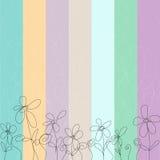 Fundo floral colorido Imagem de Stock