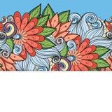 Fundo floral colorido vetor Fotos de Stock