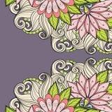 Fundo floral colorido vetor Imagens de Stock Royalty Free
