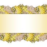 Fundo floral colorido vetor Foto de Stock Royalty Free
