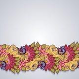 Fundo floral colorido vetor Imagem de Stock Royalty Free