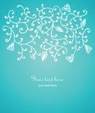 Fundo floral com espaço ilustração do vetor