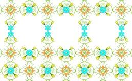 Fundo floral com espaço do texto Imagens de Stock