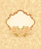 Fundo floral com rosas ilustração do vetor
