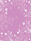 Fundo floral cor-de-rosa Foto de Stock Royalty Free
