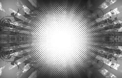Fundo floral de Grunge Imagem de Stock