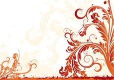 Fundo floral de Grunge Foto de Stock Royalty Free