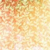 Fundo floral de Grunge Fundo da textura do vetor Foto de Stock