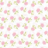 Fundo floral decorativo ilustração stock