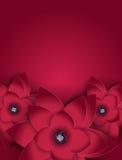 Fundo floral do cartão da flor abstrata Fotografia de Stock Royalty Free