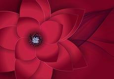 Fundo floral do cartão da flor abstrata Fotos de Stock Royalty Free