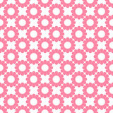 Fundo floral do cor-de-rosa e o branco Imagem de Stock Royalty Free
