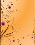 Fundo floral do projeto Foto de Stock Royalty Free
