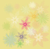 Fundo floral do projeto?, contexto, projeto da ilustração Fotografia de Stock