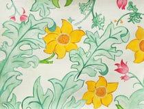 Fundo floral do projeto?, contexto, projeto da ilustração Fotos de Stock
