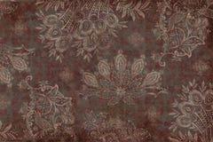 Fundo floral do Scrapbook do vintage fotografia de stock royalty free
