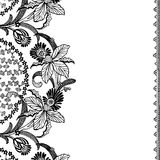 Fundo floral do Scrapbook do vintage