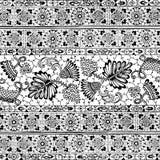 Fundo floral do Scrapbook do vintage ilustração royalty free