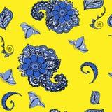 Fundo floral do teste padrão Foto de Stock Royalty Free