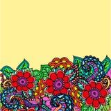 Fundo floral do teste padrão Foto de Stock