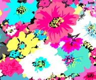 Fundo floral do vetor Fotografia de Stock
