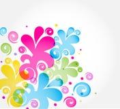 Fundo floral do vetor ilustração stock
