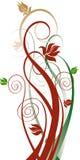 Fundo floral do vetor ilustração do vetor