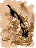 Fundo floral do vetor ilustração royalty free