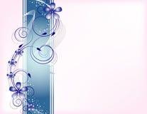 Fundo floral do vetor Imagens de Stock
