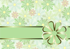 Fundo floral do vetor Foto de Stock