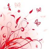 Fundo floral do vetor Foto de Stock Royalty Free