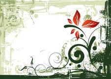 Fundo floral do vintage Fotos de Stock Royalty Free