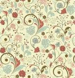 Fundo floral do vintage Imagem de Stock Royalty Free