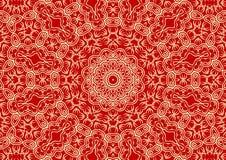 Fundo floral do vintage no estilo étnico Imagem de Stock