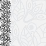 Fundo floral Filigree ilustração do vetor