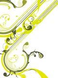 Fundo floral fresco ilustração do vetor