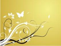 Fundo floral fresco abstrato Foto de Stock