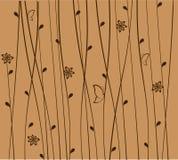 Fundo floral. Ilustração do vetor Fotos de Stock Royalty Free