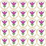 Fundo floral ingénuo sem emenda da repetição Imagem de Stock Royalty Free