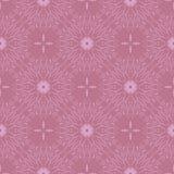 Fundo floral lindo Teste padrão sem emenda com as flores estilizados intrincadas Imagens de Stock