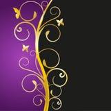 Fundo floral luxuoso ilustração royalty free