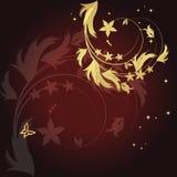 Fundo floral mágico Foto de Stock Royalty Free