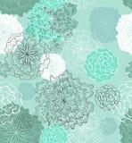 Fundo floral macio sem emenda Fotografia de Stock Royalty Free