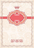 Fundo floral ornamentado Imagem de Stock