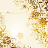 Fundo floral ornamentado Fotos de Stock
