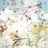 Fundo floral. Ramalhete floral da aquarela. Cartão de aniversário. Imagens de Stock