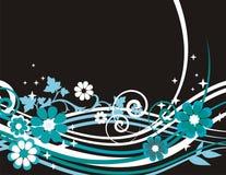 Fundo floral requintado Imagem de Stock Royalty Free