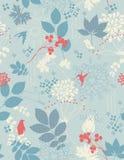 Fundo floral retro Imagem de Stock