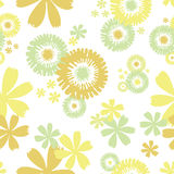Fundo floral sem emenda Imagens de Stock Royalty Free